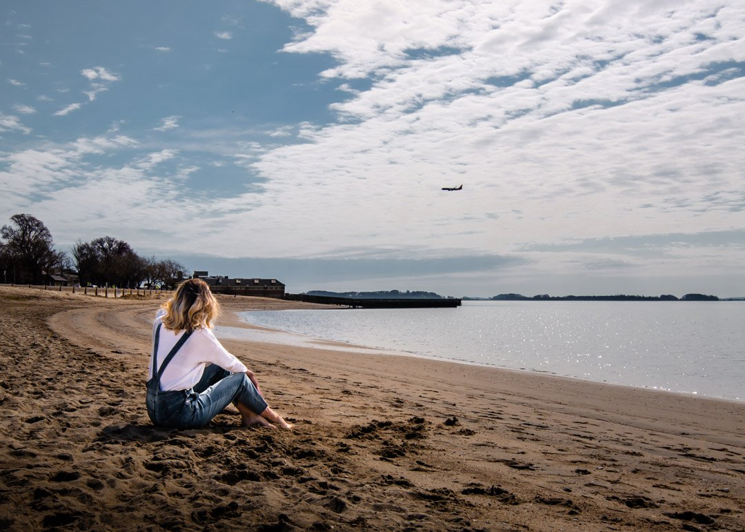 South Boston beach