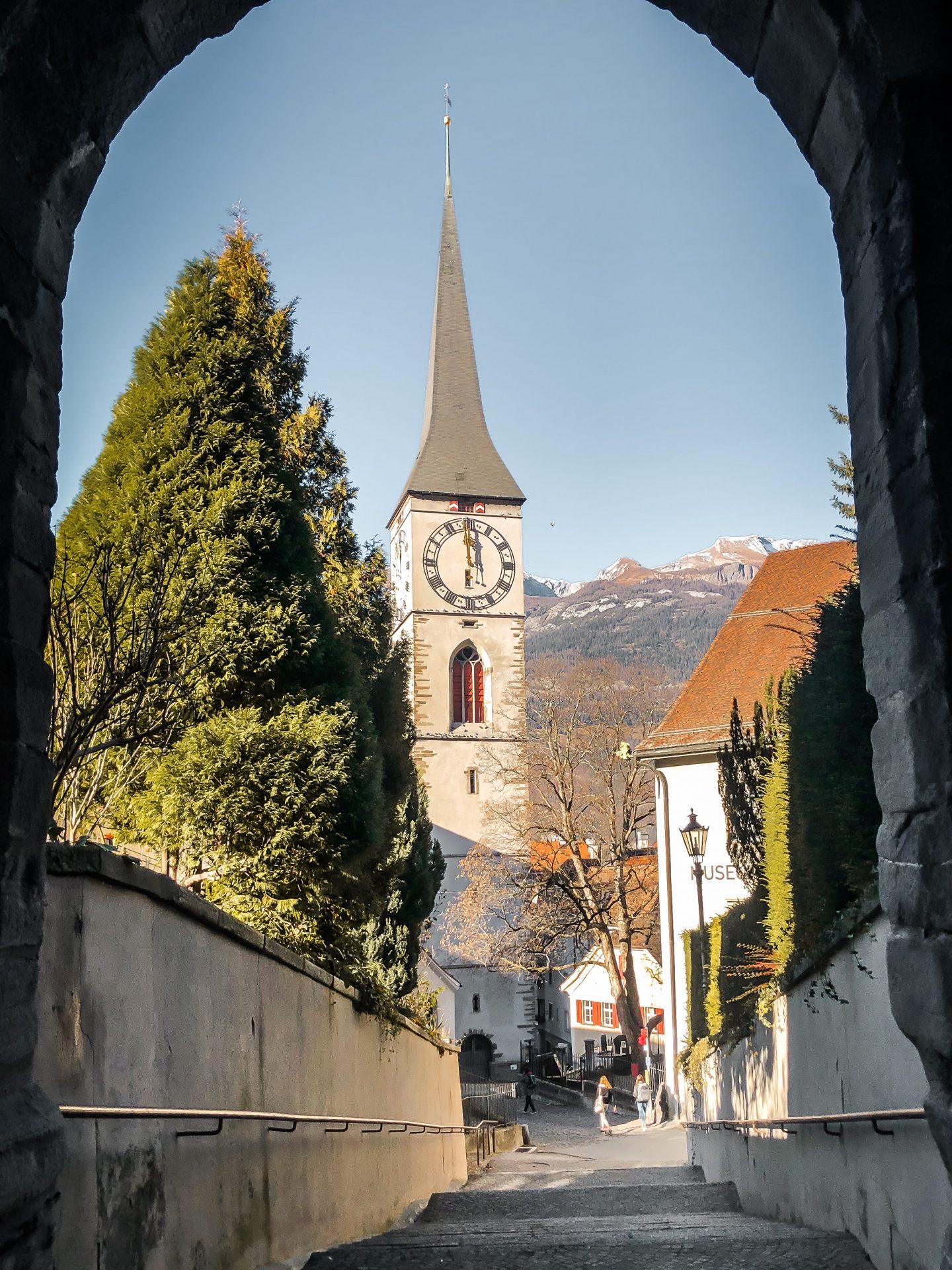 Coire Chur Lower Engadine Switzerland