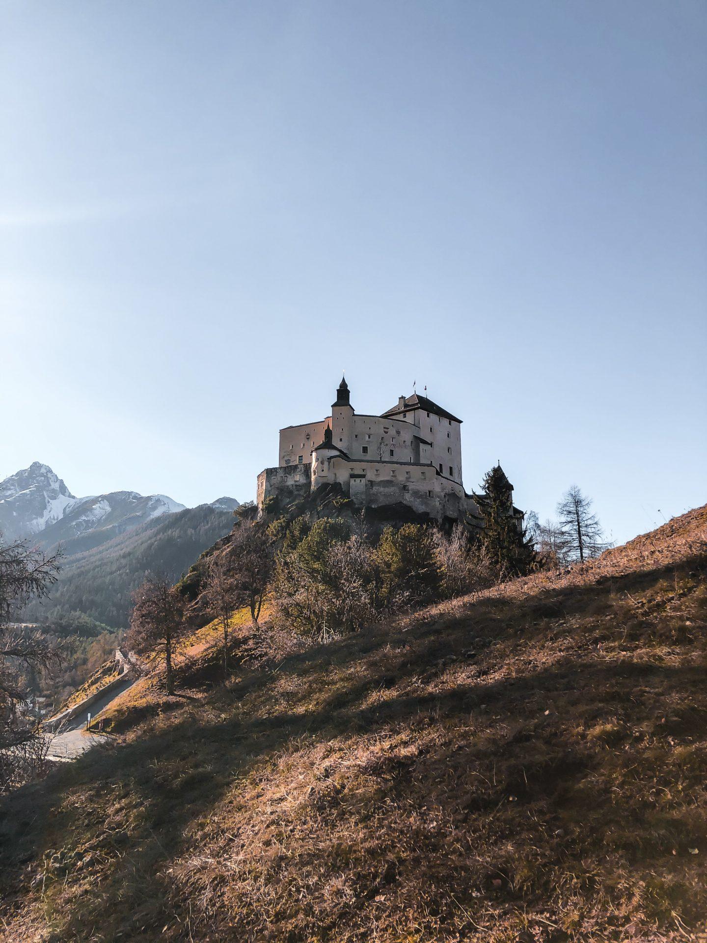 Tarasp Castle Lower Engadine Switzerland
